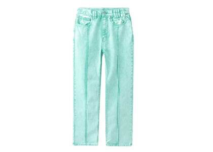 X-Girl Bleached Tapered Pants Greenの写真