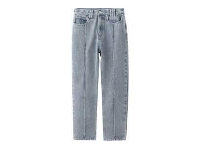 X-Girl Bleached Tapered Pants Light Blueの写真