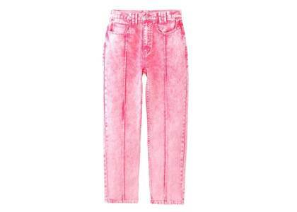 X-Girl Bleached Tapered Pants Pinkの写真