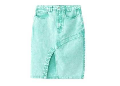X-Girl Bleached Tight Skirt Greenの写真