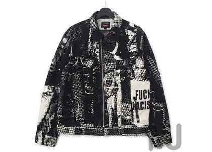 Supreme Jean Paul Gaultier Fuck Racism Trucker Jacket Whiteの写真