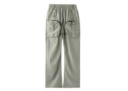 X-Girl Cyber Nylon Pants Khakiの写真