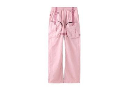 X-Girl Cyber Nylon Pants Pinkの写真
