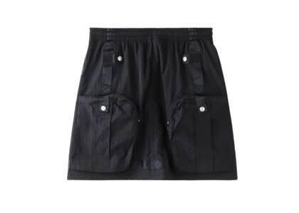 X-Girl Cyber Nylon Skirt Blackの写真
