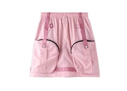 X-Girl Cyber Nylon Skirt Pinkの写真