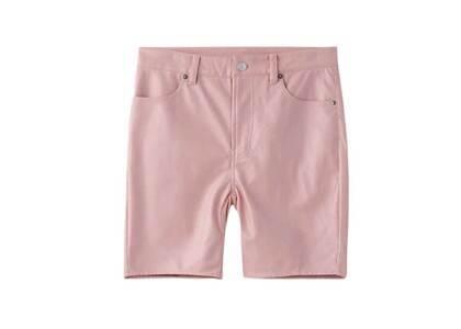 X-Girl Faux Leather BIKER Pants Pinkの写真