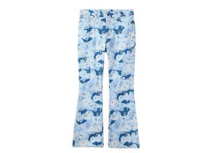 X-Girl Flare Work Pants Light Blueの写真