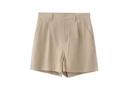 X-Girl High Waisted Short Pants Beigeの写真