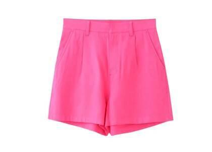 X-Girl High Waisted Short Pants Pinkの写真
