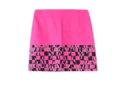 X-Girl Hotrod Skirt Pinkの写真