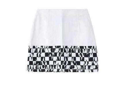 X-Girl Hotrod Skirt Whiteの写真