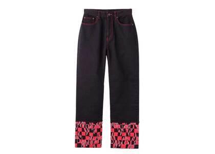 X-Girl Hotrod Straight Pants Blackの写真