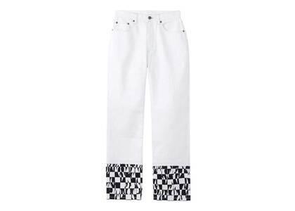 X-Girl Hotrod Straight Pants Whiteの写真