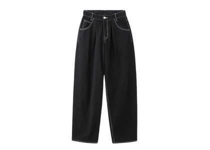X-Girl Wide Tapered Pants Black (0-2)の写真