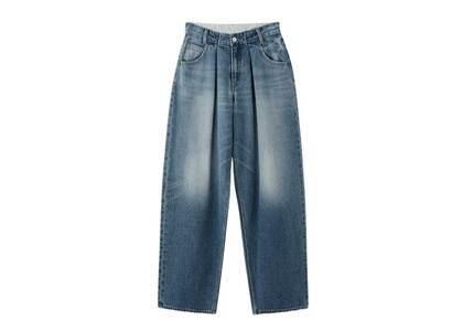 X-Girl Wide Tapered Pants Light Indigo (0-2)の写真