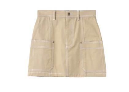 X-Girl Work Mini Skirt Beigeの写真