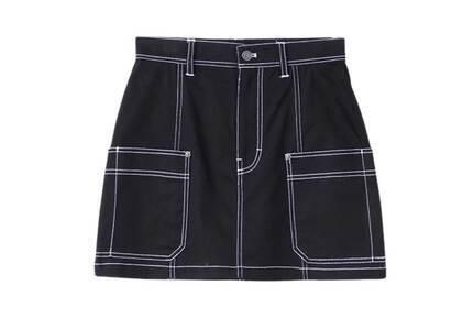 X-Girl Work Mini Skirt Blackの写真