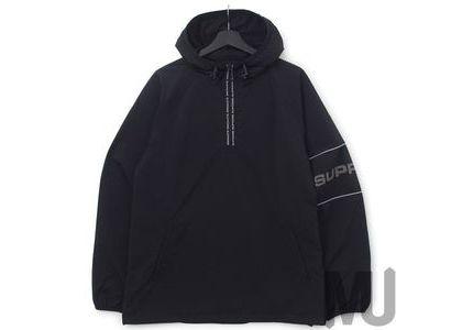 Supreme Nylon Ripstop Hooded Pullover Blackの写真