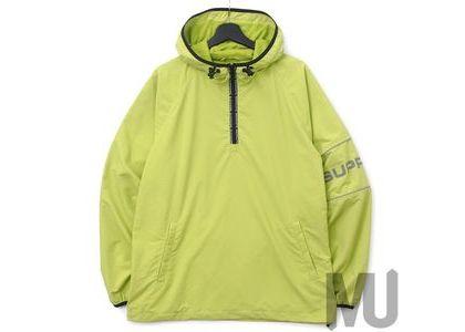 Supreme Nylon Ripstop Hooded Pullover Limeの写真