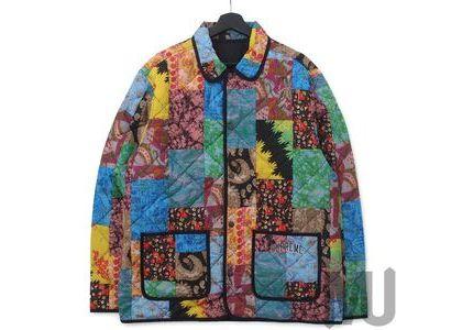 Supreme Reversible Patchwork Quilted Jacket Multicolorの写真