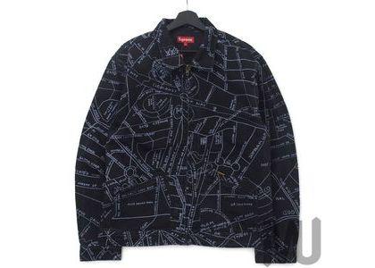 Supreme Gonz Map Work Jacket Washed Blackの写真