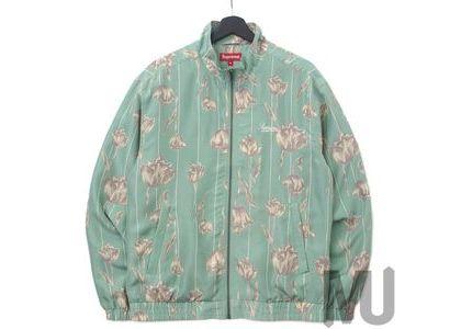 Supreme Floral Silk Track Jacket Mintの写真