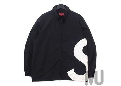 Supreme S Logo Track Jacket Blackの写真