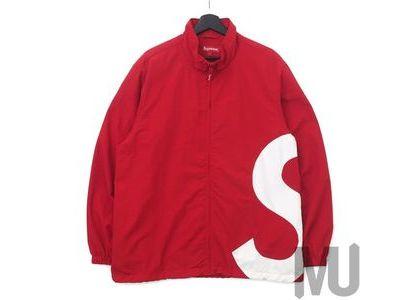 Supreme S Logo Track Jacket Redの写真