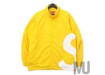 Supreme S Logo Track Jacket Yellowの写真