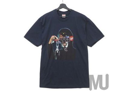Supreme Creeper Tee Navyの写真
