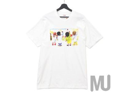 Supreme Kids Tee Whiteの写真