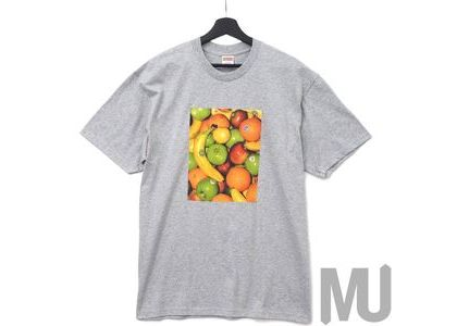 Supreme Fruit Tee Heather Greyの写真