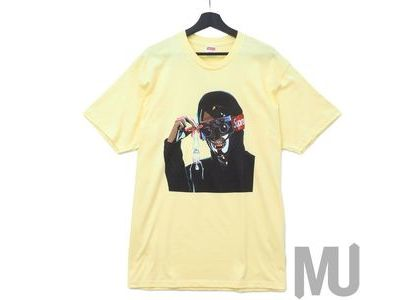 Supreme Creeper Tee Pale Yellowの写真