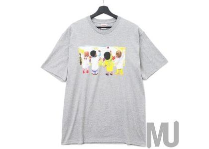 Supreme Kids Tee Heather Greyの写真