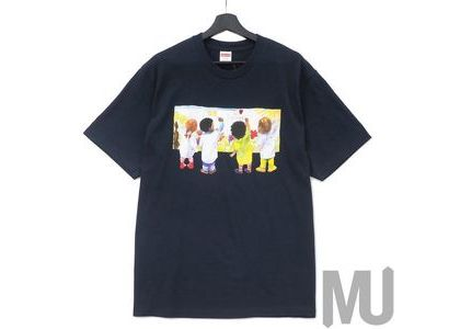 Supreme Kids Tee Navyの写真