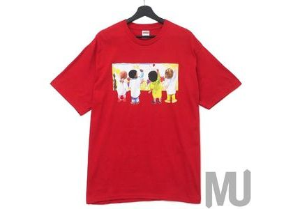 Supreme Kids Tee Redの写真