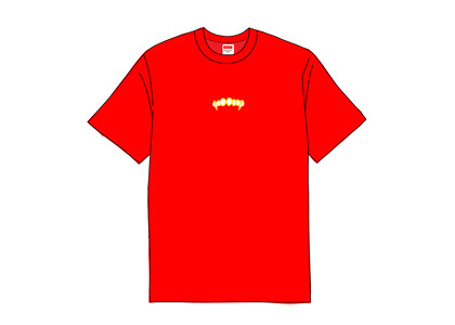 Supreme Fronts Tee Redの写真