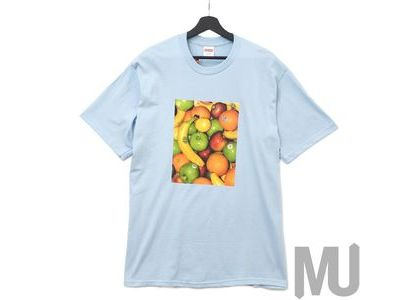 Supreme Fruit Tee Light Blueの写真