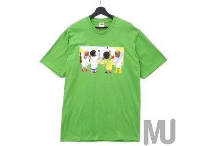 Supreme Kids Tee Greenの写真