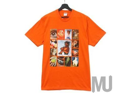 Supreme Original Sin Tee Orangeの写真