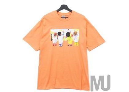 Supreme Kids Tee Neon Orangeの写真