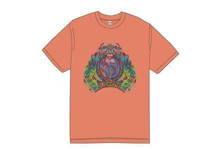 Supreme Knot Tee Neon Orangeの写真