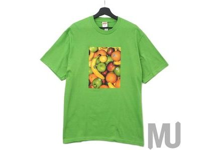 Supreme Fruit Tee Greenの写真