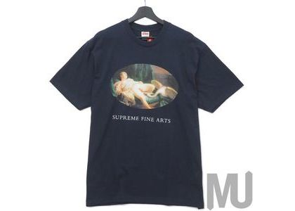 Supreme Leda and the Swan Tee Navyの写真
