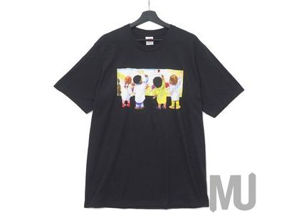 Supreme Kids Tee Blackの写真