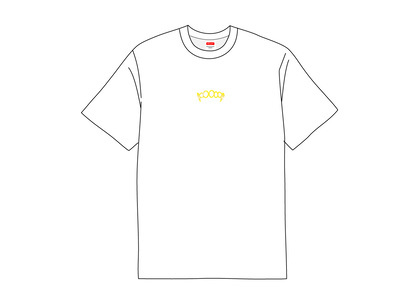 Supreme Fronts Tee Whiteの写真