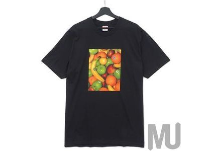 Supreme Fruit Tee Blackの写真