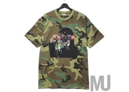 Supreme Creeper Tee Woodland Camoの写真