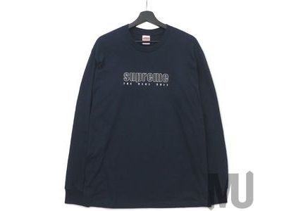 Supreme The Real Shit L-S Tee Navyの写真
