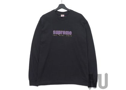 Supreme The Real Shit L-S Tee Blackの写真